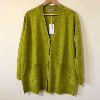 🚚 Cos 草綠色 長袖針織外套