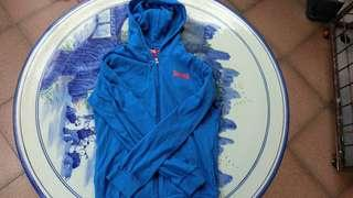 lonsdale hoodie blue