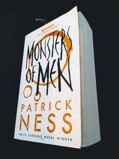 [Postage Inclusive]Book 3 of Chaos Walking Trilogy ~~Monsters of Men- Patrick Ness. English Novel