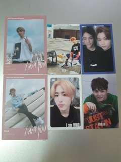 Stray Kids I AM WHO I AM YOU Official Photocards