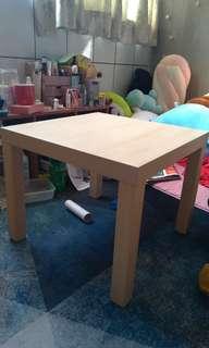 宜家 ikea 原木色小方桌