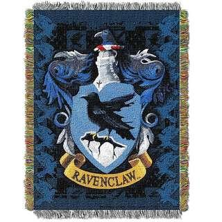 🚚 🔥Ravenclaw Woven Tapestry Blanket (Harry Potter)