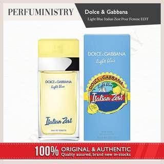 [perfuministry] DOLCE & GABBANA LIGHT BLUE ITALIAN ZEST POUR FEMME EDT