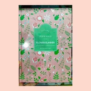 Flower planner (pink)
