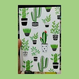 Cactus planner (green)
