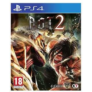 PS4 A.O.T 2