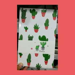 Cactus Planner (red)