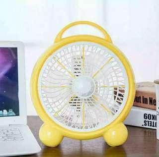 Cartoon mini mini fan, desk mute dormitory, bed office, fan, fan, household fan.