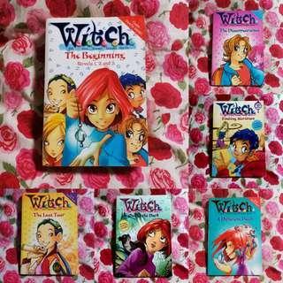 WITCH comic books