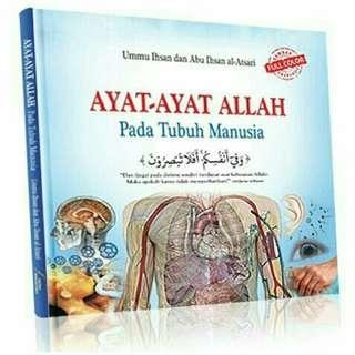 Buku Ayat ayat Alllah pada tubuh manusia