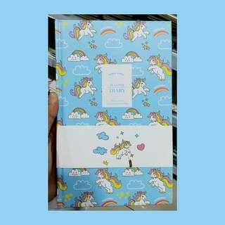Unicorn Planner (blue)