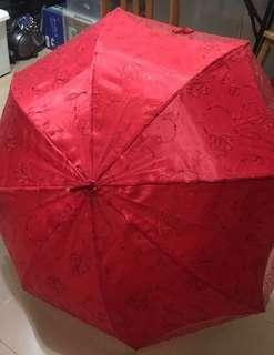 結婚物資-出門紅傘 all abt wedding: red umbrella
