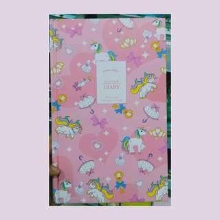 Unicorn Planner (pink)