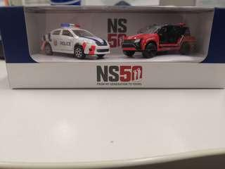 NS50 Diecast FRC and scdf vehicle