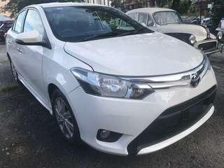 Toyota Vios 1.5 E Spec Auto Tahun 2015