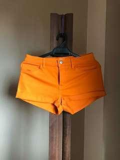 Brand new H&M orange shorts