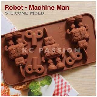 🤖 ROBOT • MACHINE MAN SILICONE MOLD