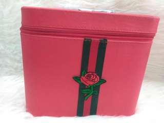 Beauty Case Merah Besar | Tas Make Up Kosmetik