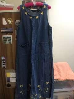 重磅數 復古古著洋裝