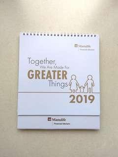🚚 2019 Desk Calendar #SpringCleanAndCarouSell