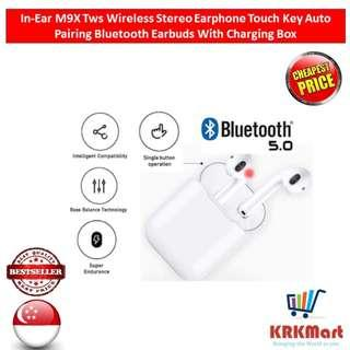 M9X Tws Wireless Stereo Earphone