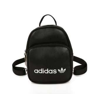 🆕 Instock Adidas Mini Two Way Woman Backpack or Casual Travel School Bags