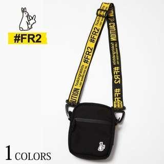 日本雜誌附錄款 FR2 頭狂色情兔 迷你肩背包 街頭潮牌 側背包 斜肩包 #FR2 兔子