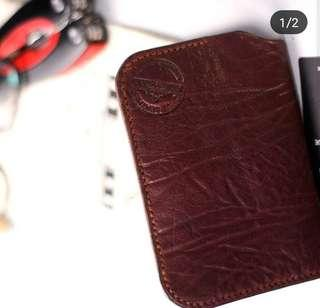 Dompet vegetable tanned