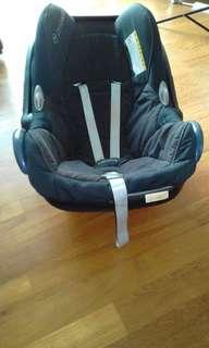 Car seat, car seat adapter for stroller, standing board