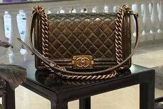 Chanel Bag medium sz 25 #24 in bronze