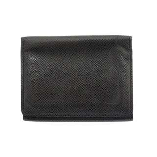 Louis Vuitton Black Taiga Namecard Holder
