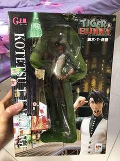 Tiger and bunny kotetsu Gem series figurine