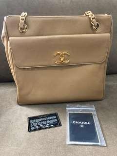 Chanel Gold Caviar Bag