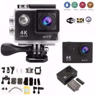 🚚 4K HD Wifi Sports Action Camera Ultra Waterproof DV Camcorder 12MP 170 Degree Wide Angle with Full Accessories Luxury Kits