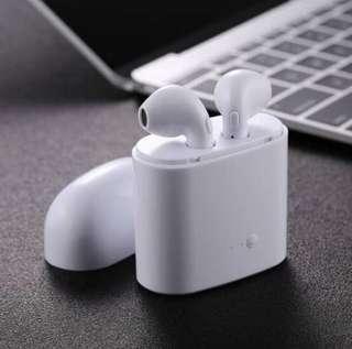 BRAND NEW IN BOX | i7 TWS | Smart Wireless Bluetooth Earphones w/Charging Box | EarPods | Headphones