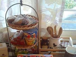日本natural kitchen 置物杯架