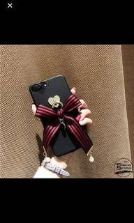 Japanese Lolita Black Ribbon Phone Case