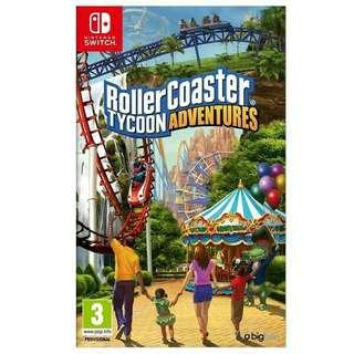 收 switch roller coaster 模擬樂園