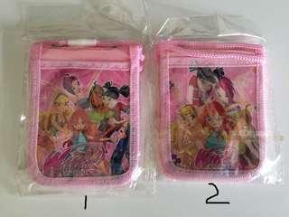 Winx Club cardholder cum pouch with strap