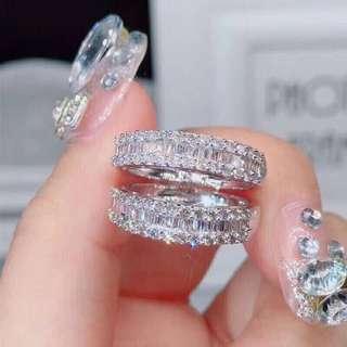 🎉🎉🎉50分方钻戒指~真鑽 18k 預購商品開賣啦🎉🎉🎉