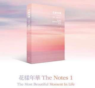 BTS THE NOTES 1 (E)