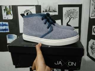 Zalora Jaxon Sepatu Sneakers Free 3 Tali Sepatu New
