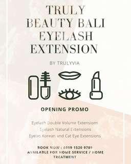 Promo Eyelash Extensions