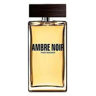 Parfum yves rocher  ambre noir