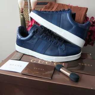 🚚 Gucci USA Exclusive Original Ace Sneaker Shoe