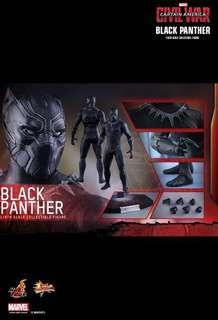 Hot toys black panther civil war with eleven headsculpt (free)