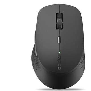 RAPOO M300 SILENT TRI MODE SILENT WIRELESS MOUSE GREY - 2 YEARS WARRANTY