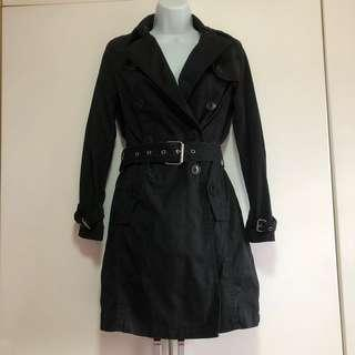 GAP Winter Black Trench Coat
