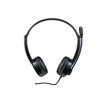 RAPOO H100 3.5MM WIRED HEADPHONE BLACK - 2 YEARS WARRANTY
