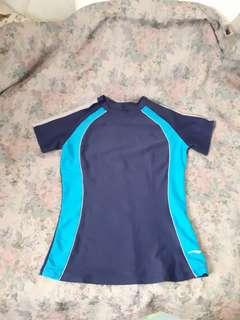 Shortsleeved rashguard